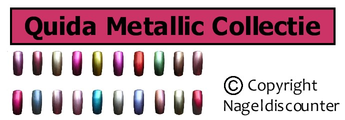 Quida Metallic Collectie banner