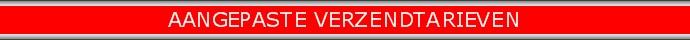 Red banner AANGEPASTE VERZENDTARIEVEN690x40 zilver rand rood nieuw