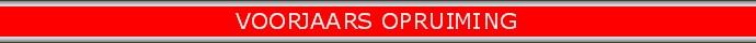 Red banner VOORJAARSOPRUIMING690x40 zilver rand rood nieuw