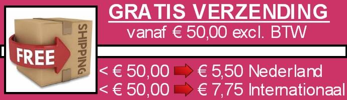 Verzendkosten aktie banner1