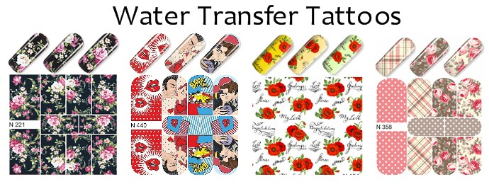 Water Transfer Tattoos banner